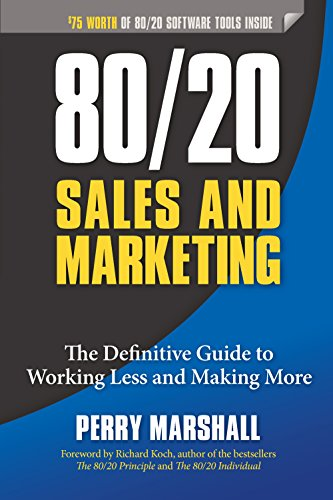 80/20 marketing books